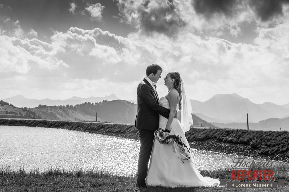 Hochzeitsfoto, Leogang, Asitz, Brautpaar