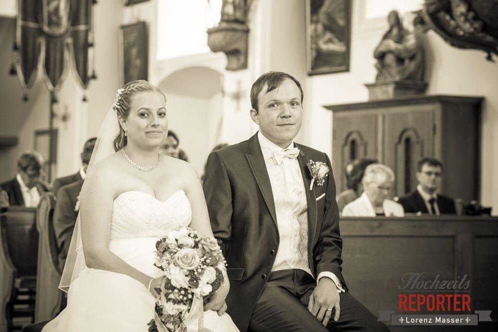 Trauung, Kirche, Hochzeit, Hochzeitsfotograf, Brautpaar, Land Salzburg, Leogang, Asitz