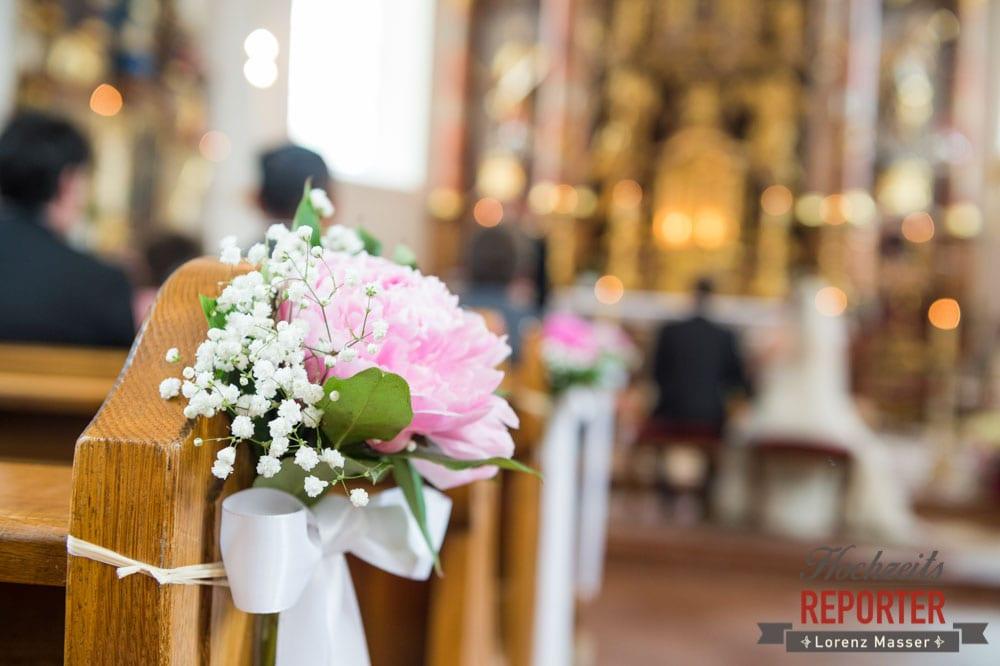 Heiliger Leonhard, Kirche, Trauung, Hochzeit, Hochzeitsfotograf, Brautpaar, Land Salzburg, Leogang, Asitz