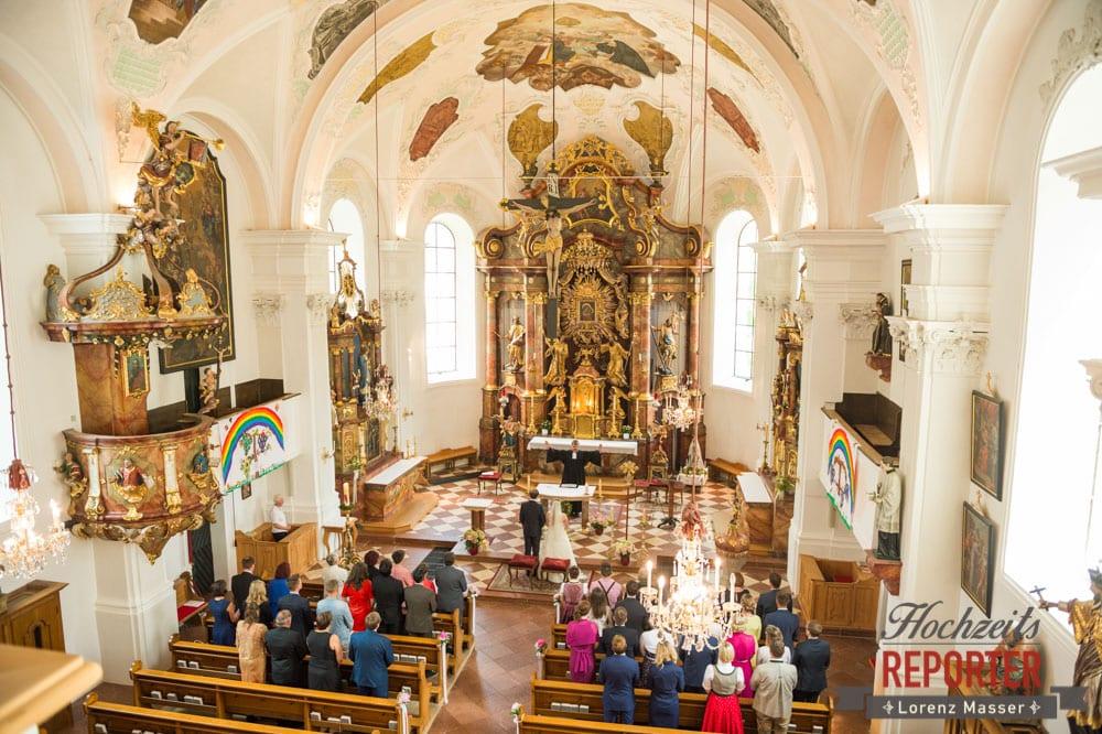 Hochzeit im kleinen Kreis, Trauung, Heiliger Leonhard, Brautpaar, Hochzeit, Hochzeitsfotograf, Land Salzburg, Leogang, Asitz,
