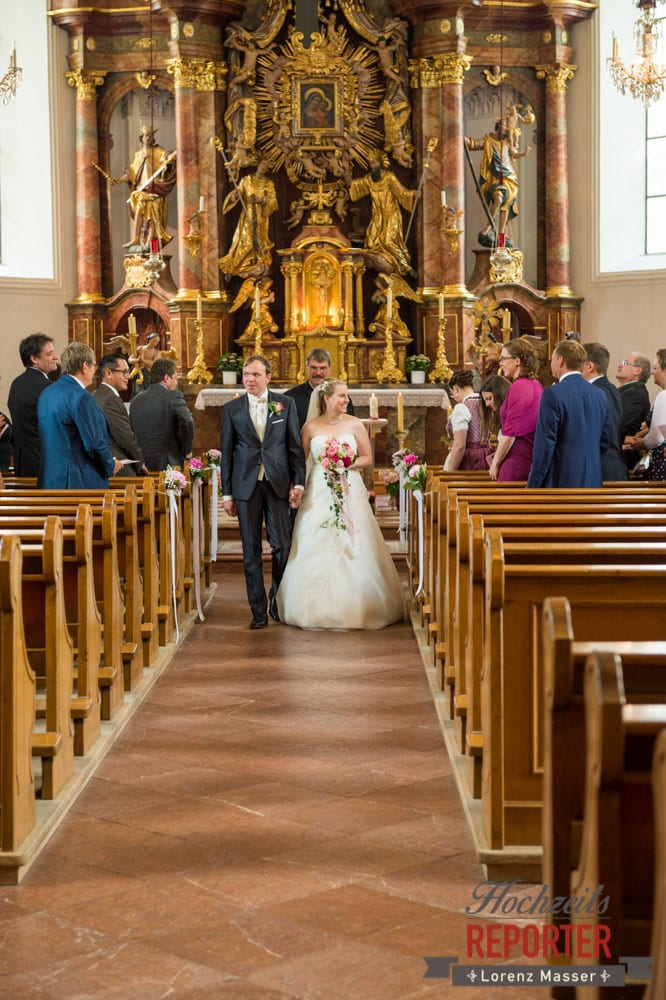 Trauung, Heiliger Leonhard, Brautpaar, Hochzeit, Hochzeitsfotograf, Land Salzburg, Leogang, Asitz,