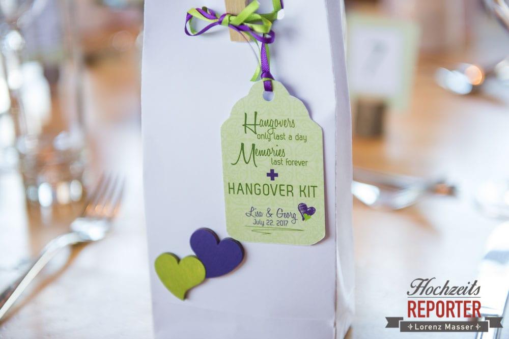 Tischdeko, Geschänke fürHochzeitsgäste, Lisa Alm, Flachau, Hochzeit, Wedding, Hochzeitsfotograf, Land Salzburg, Lorenz Masser